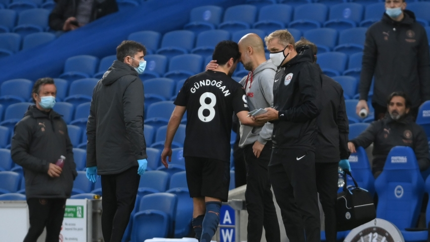 Man City 'optimistic' over Gundogan after knee injury scare – Guardiola