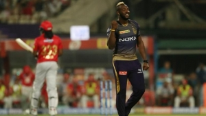 Russell pleased to get better of 'brother' Gayle