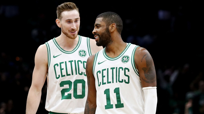 Celtics' Hayward wishes Irving 'the best of luck' with Nets