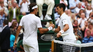 Federer excited for 'brutal' Djokovic final