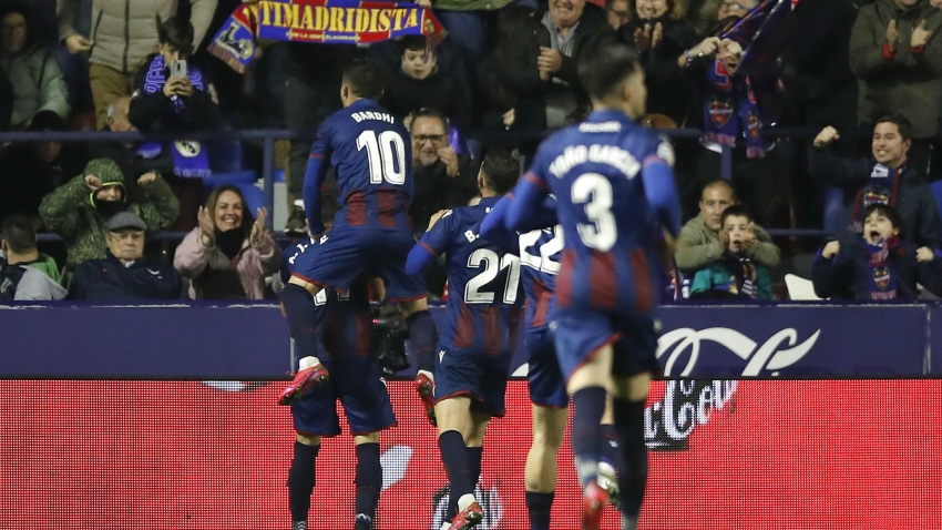 Levante 1-0 Real Madrid: Morales stuns Los Blancos as Hazard is hurt before crucial week
