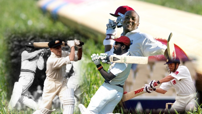 BestXI: Best Test batsmen of all time