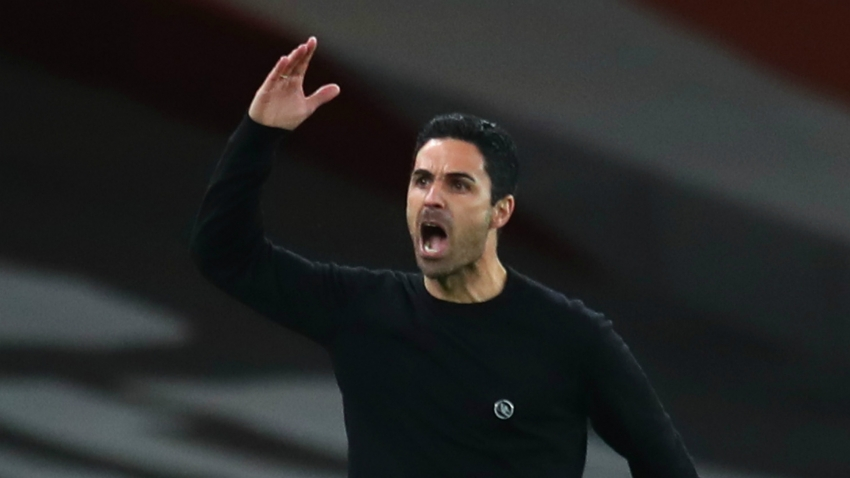 Arsenal boss Arteta questions Lacazette's disallowed goal in Leicester defeat
