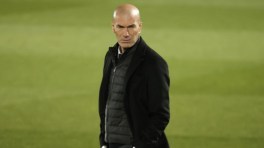 Zidane tells Real Madrid to 'continue fighting' as LaLiga title hopes take hit