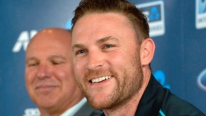 Former New Zealand skipper Brendon McCullum