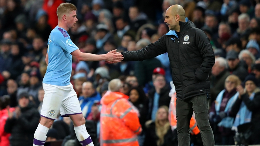 Man City players have 'all trust' in club despite Champions League ban, says De Bruyne