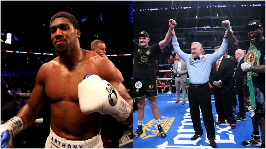 Fury a more likely Joshua opponent than Wilder - Hearn