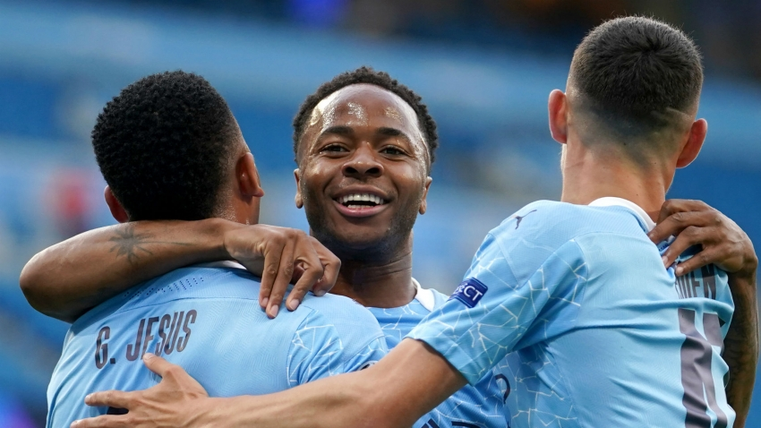 Sterling joins Man City's 100 club with opener against Real Madrid