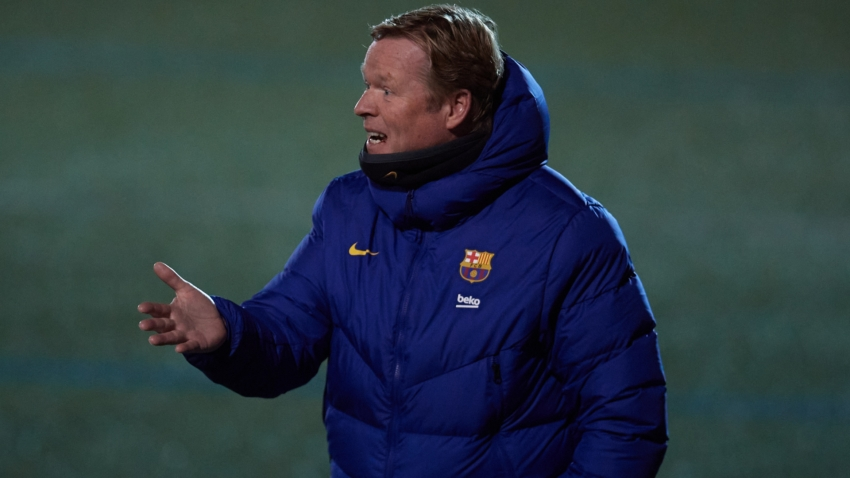 Koeman furious at missed Barcelona penalties: This can't be accepted