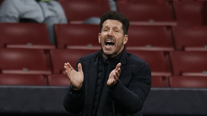 Simeone not focused on leapfrogging Real Sociedad at LaLiga summit