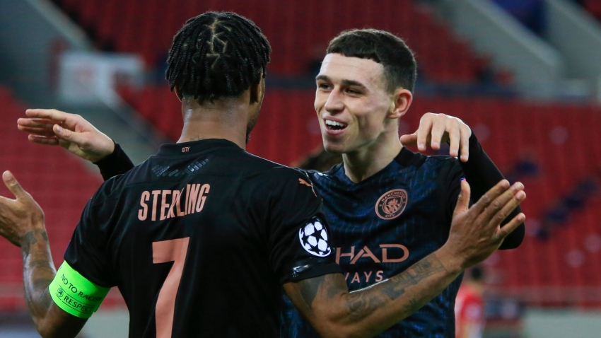 Olympiacos 0-1 Manchester City: Foden strike seals Champions League progress