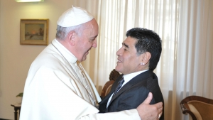 Maradona was a poet and a great champion – Pope Francis