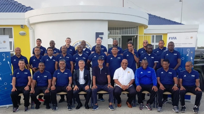 Caribbean ready to train trainers after coach educators' course comes to an end