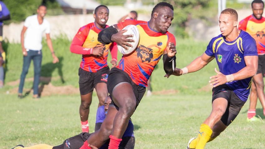 Red Sharks cruise to third straight KO title