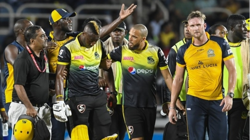 Tallawahs hopeful Andre Russell can return for Warriors clash