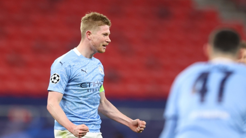 De Bruyne back in training as Guardiola eyes 'best' Champions League preparation at Brighton