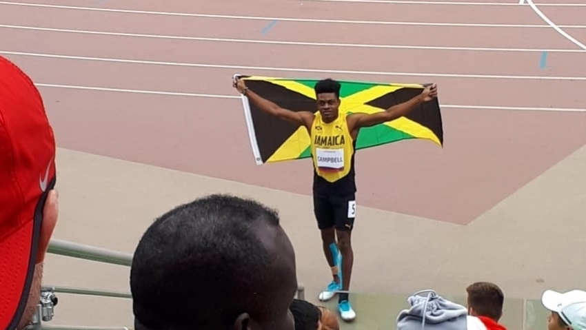 Chadwick Campbell wins 100m silver at Para Pan Am Games