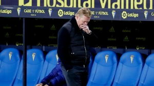 Koeman hits out at fixture schedule after losing Dembele to injury