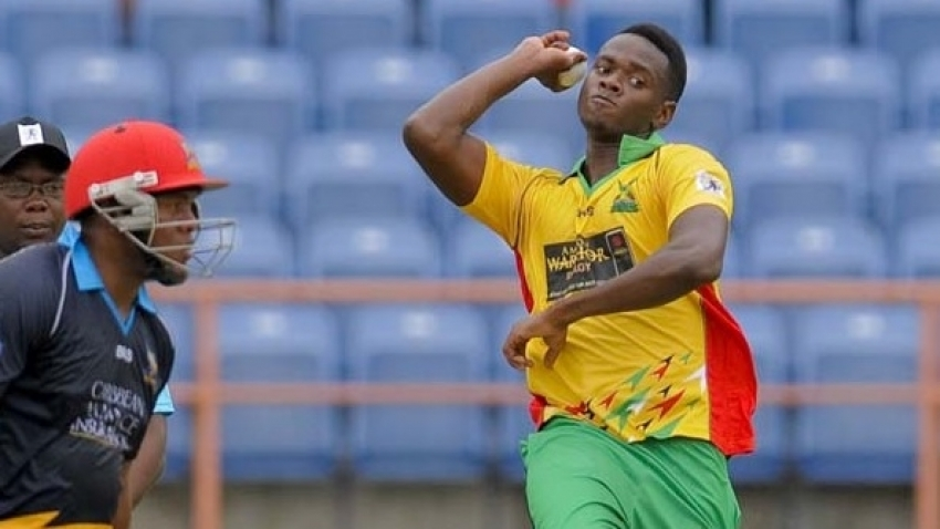 Ronsford Beaton suspended again for an illegal bowling action