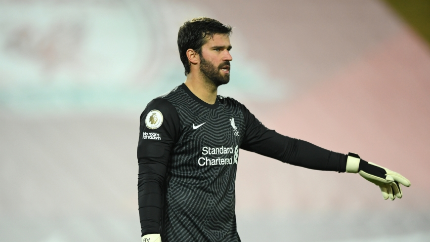 Alisson declares himself '100 per cent fit' after making swift injury recovery