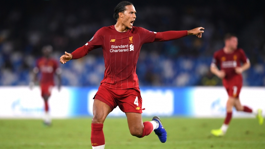 Van Dijk: No reason for Liverpool to panic