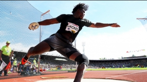 Diamond League champion Dacres warmed up for this weekend's Continental Cup with a massive win in Croatia on Tuesday.