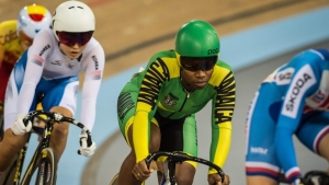 Jamaican cyclist Dahlia Palmer excited by climb up UCI World rankings