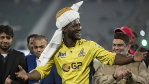 Former Windies skipper Darren Sammy.