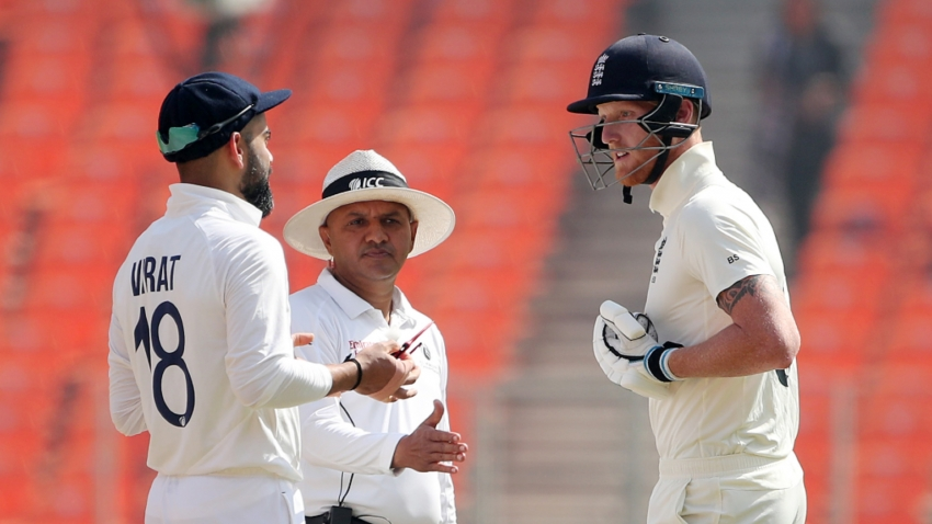 Stokes faces India accusation but says Kohli spat was 'nothing untoward'