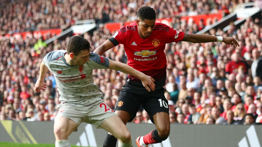 Rashford could be first Man Utd player to get Anfield ovation! – Robertson