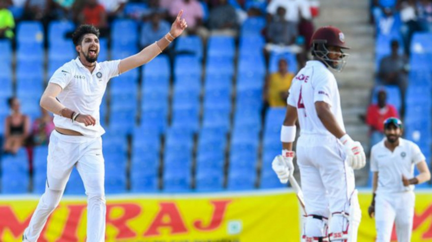 Ishant takes five to put India in command