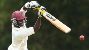 Leeward Islands batsman Devon Thomas.