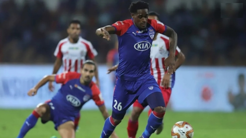 Reggae Boy Brown was allowed to leave Bengaluru FC to seek more playing time