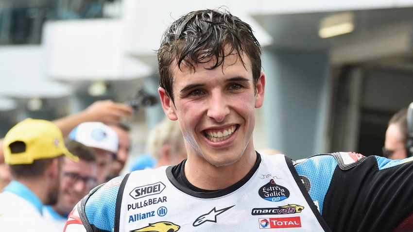 Alex Marquez joins six-time MotoGP champion and brother Marc at Repsol Honda