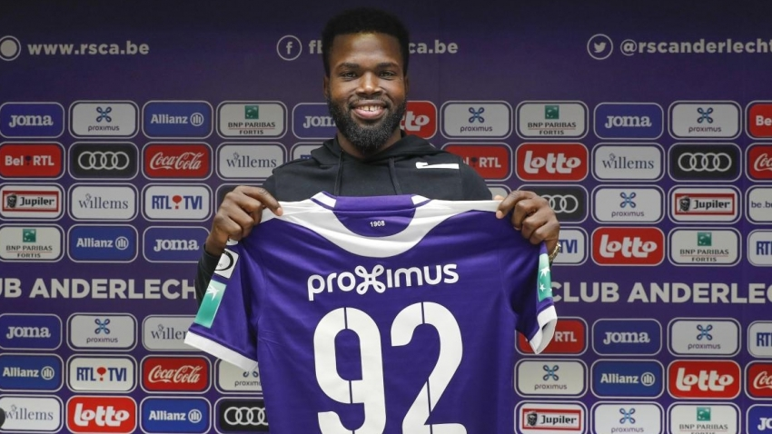 Lawrence working overtime to be ready for Anderlecht debut
