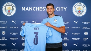 Ruben Dias straight into Man City line-up for debut at Leeds
