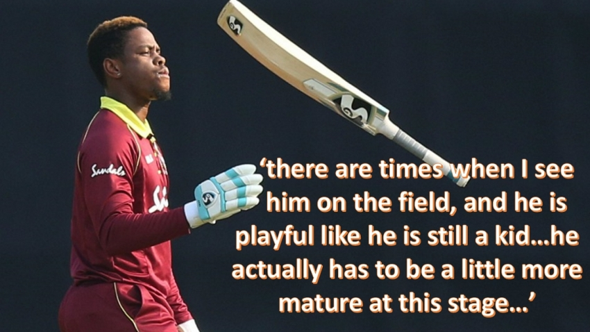 'He has to take a look at himself in the mirror' - WI legend Richards calls on Hetmyer to take more mature approach to game