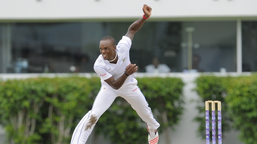 Stoute's 6 for 34 wrecks TT Red Force at Brian Lara Academy