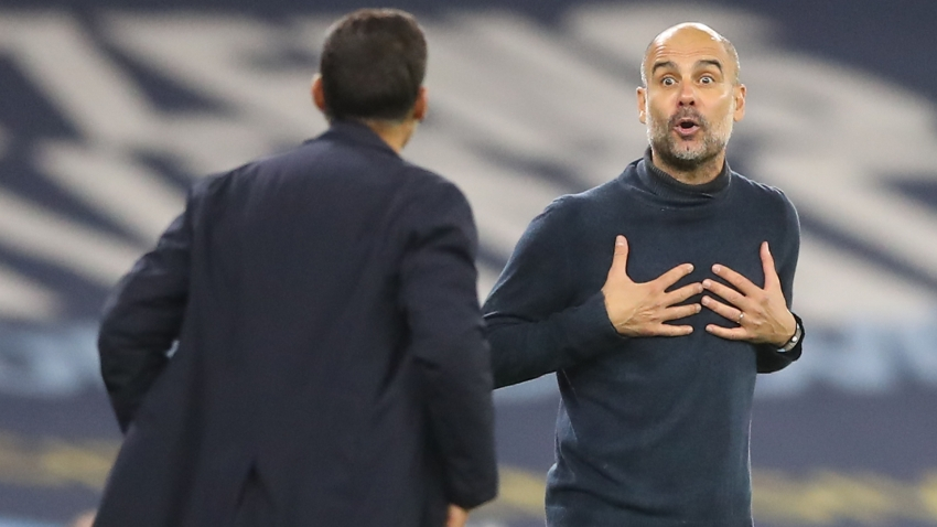 Guardiola hits back at Conceicao after claims about referee pressure