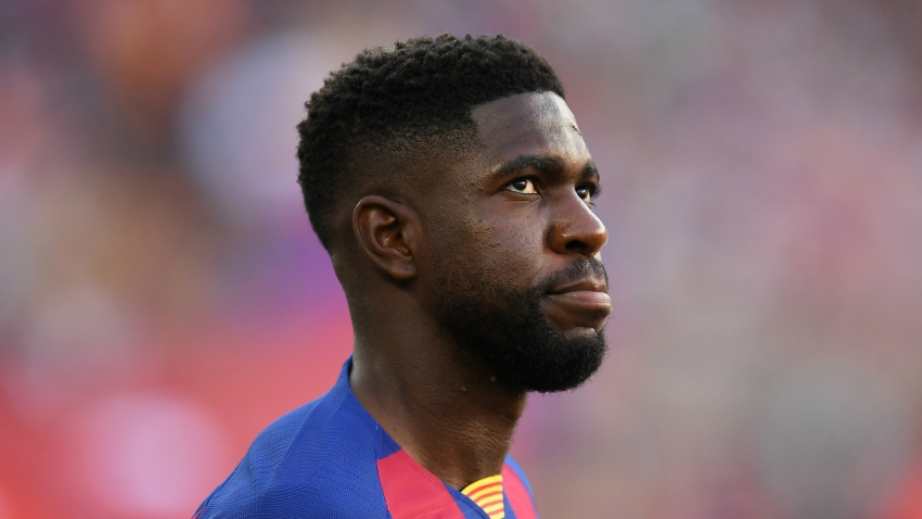 Umtiti and Junior fit to return for Barcelona at Eibar