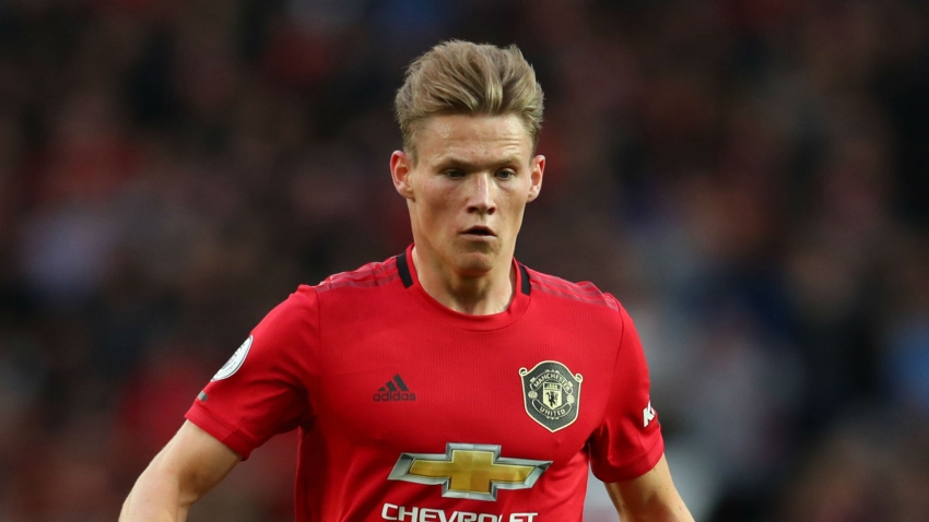 Man United without McTominay for 'a couple of weeks', Solskjaer confirms