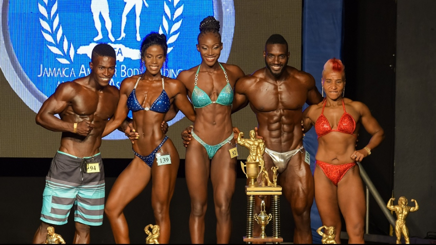Jermaine Henry, Avernell Modest take top awards at Jamaica bodybuilding championships