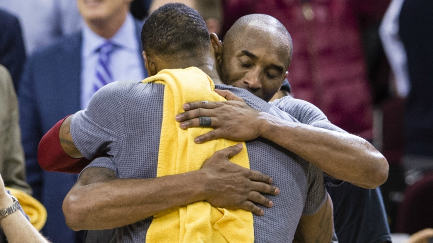 LeBron James: I'm just trying to put on a show for Kobe Bryant
