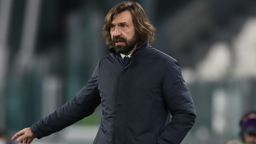 Pirlo urges patience as Juve's Champions League dream hangs by a thread
