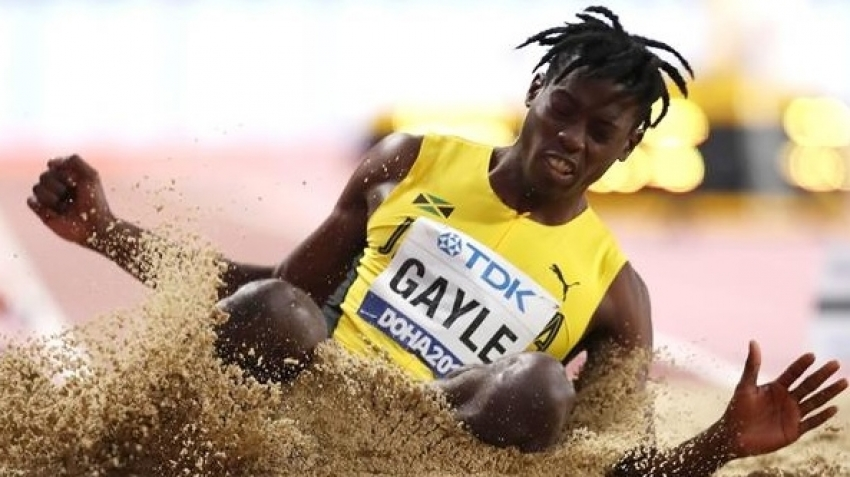 Tajay Gayle fails to break 8m, finishes third in Switzerland
