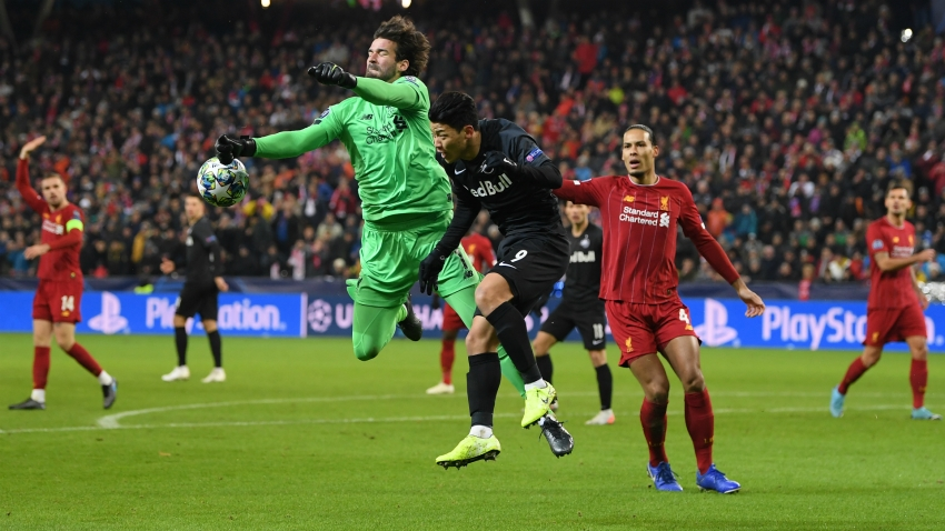 Alisson lays down Liverpool challenge after first back-to-back clean sheets since September