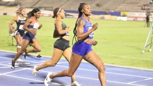 Williams lowers NJR, but Thompson 10.89 fastest into 100m final