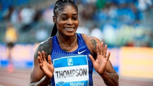 Jamaica's Elaine Thompson.