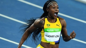 Elaine Thompson cops Pan Am 100-metre gold, Ahye second in Peru