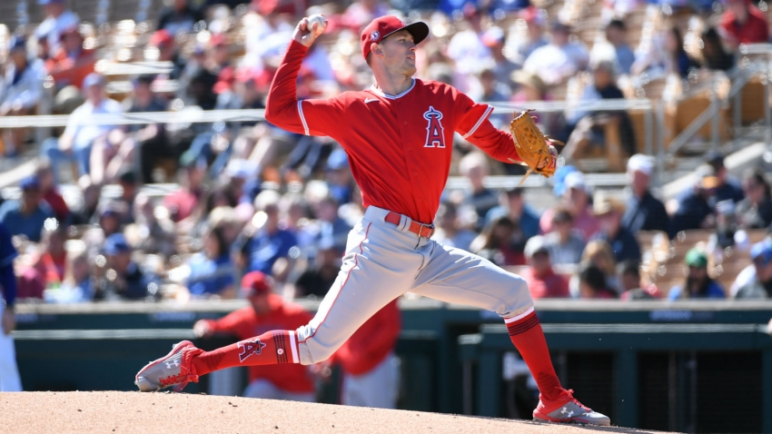 Angels clear pitcher Griffin Canning to throw